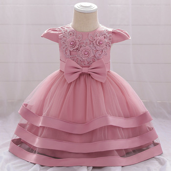 Baby Girl Dress Newborn Girl 2 1yrs Birthday Wedding Princess Dress Kindergarten Graduation Ball Party Dresses Children Clothing