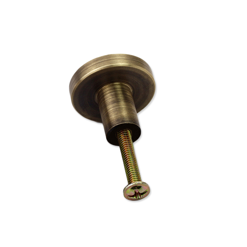 28 мм ручка дверного замка входного прохода Ванна домашний замок атлас с винтом - Цвет: Bronze
