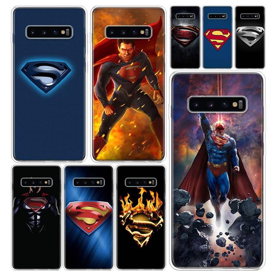 <font><b>Marvel</b></font> superman <font><b>Logo</b></font> Phone <font><b>Case</b></font> Cover For <font><b>Samsung</b></font> <font><b>Galaxy</b></font> A51 A71 A50 A70 A10 A20E <font><b>A30</b></font> A40 A90 M30S A01 A6 A7 A8 A9 Plus Coque image