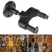 Yfashion Guitar Hanger Hook Wall Mount Display Guitar Keeper Holder For Bass Violin Banjo vintage tower type guitar metronome bell ring rhythm mechanical pendulum metronome for guitar bass piano violin accessories