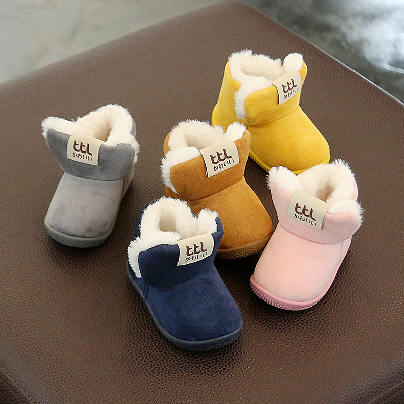 Winter Warm Elastic Band Snow Boots 1