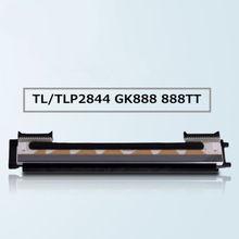 Nova cabeça de impressão da impressora para zebra tlp2844 lp2844 888 2844 gc420d gc420t 203dpi código de barras printe