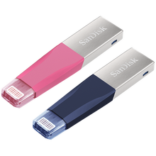 Original SanDisk iXpand Mini Pendrive 64GB 128GB 256GB OTG Flash Drive USB 3.0 Flash Disk Memory Stick For iPad/iPhone/Computer(China)