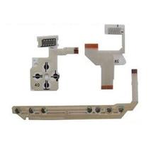 ทิศทาง Cross Full ปุ่มซ้ายขวาคีย์ Flex Cable สำหรับ PSP 1000 Start Home Volume Key Flex Cable