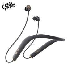 ויזר AM1E HiFi 5.0 Bluetooth אוזניות ספורט Neckband מגנטי אלחוטי אוזניות עמיד למים עם מיקרופון עבור אנדרואיד IOS 15h