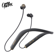 Fones de ouvido whizzer am1e hifi 5.0, com bluetooth, magnéticos, à prova d água, com microfone, para android e ios, 15h