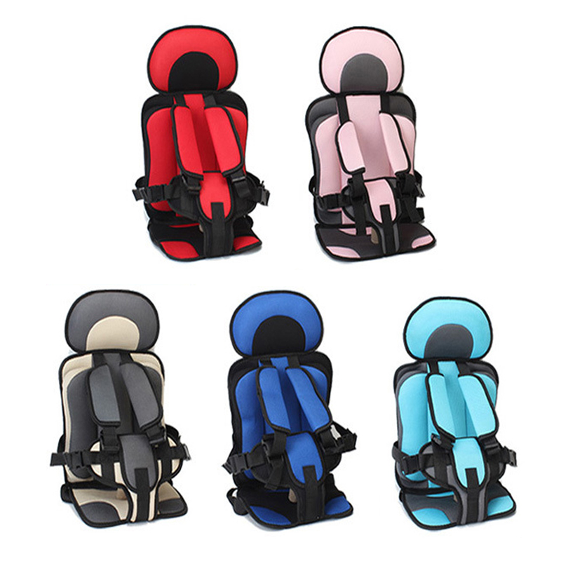 Portable Large Safety Cushion Thicken Travel Child Seat Pad Soft Thickening Seats For Boys Girls Outdoor Touring Accessories