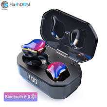 Bluetooth 5.0 Surround TWS Wireless earphones G01 Eeaphone Touch Control True Stereo Earbud Sport HandsFree With Mic