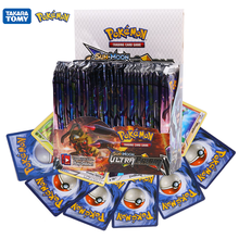 324Pcs Pokemon Cards TCG:Ultra Prism Sword&Shield Sun&Moon Evolutions English Trading Card Game Booster Box Collectible Kid Toys