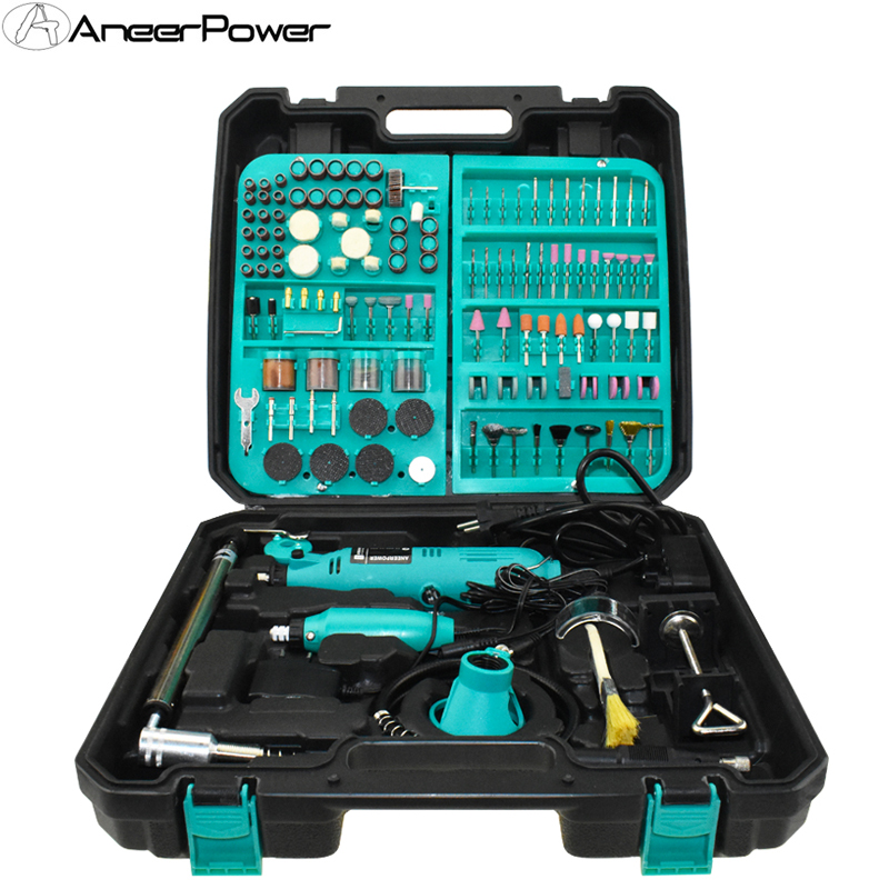 Dremel 2Pcs beruf Stecher Mini Dril Mini DIY Bohrer Maschine Gravur Stift Grinder Mini Elektrische DIY Bohrer Dreh Werkzeug eu