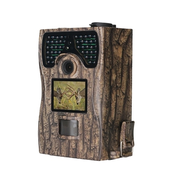 Trail Game Camera with Night Vision Motion Activated 1080P 12MP Hunting Trap Cameras Waterproof IP66 for Outdoor Wildlife Watchi