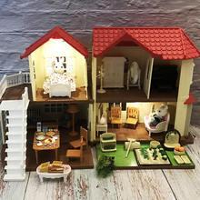 Игрушечный домик для ролевых игр кукольный «сделай сам» лес