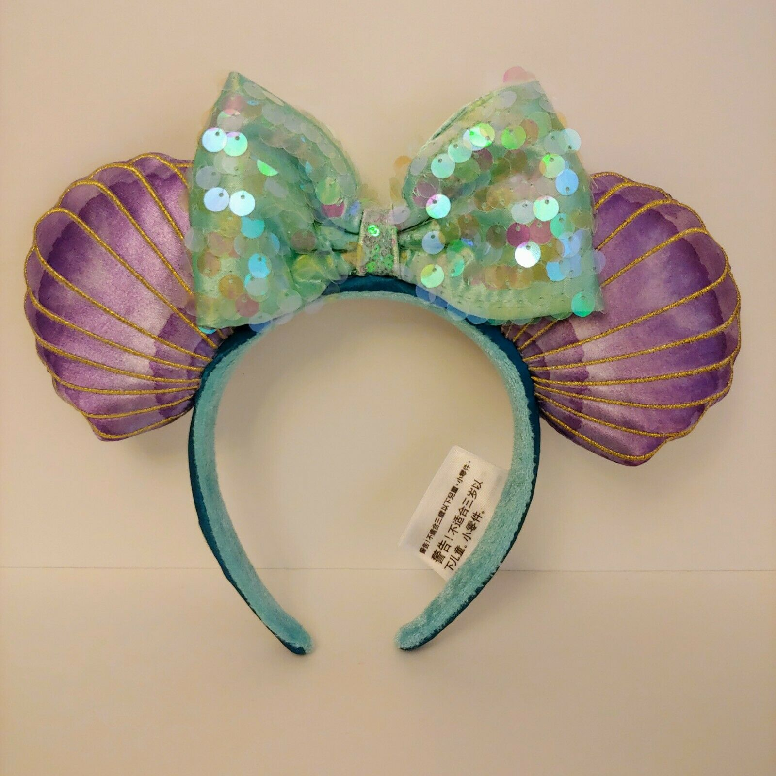 Little Mermaid Ariel Minnie Ears Headband Mermaid Hair Don't Care
