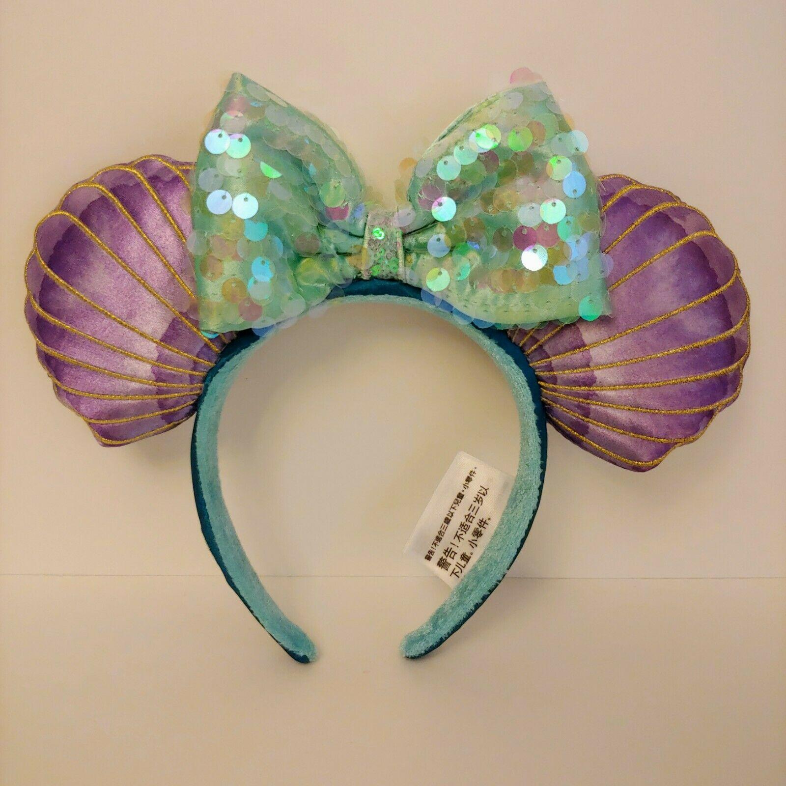 Little Mermaid Ariel Minnie Ears Headband Mermaid Hair Don't Care