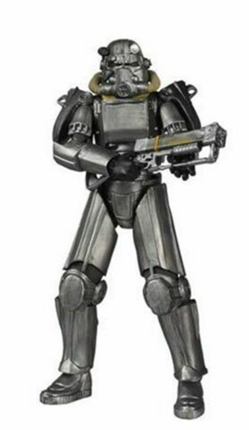 Power Armor Style Figure Model 6 inches PVC Fallout 4 Action Doll Toy Collectible TV Movie Hobby Decoration image