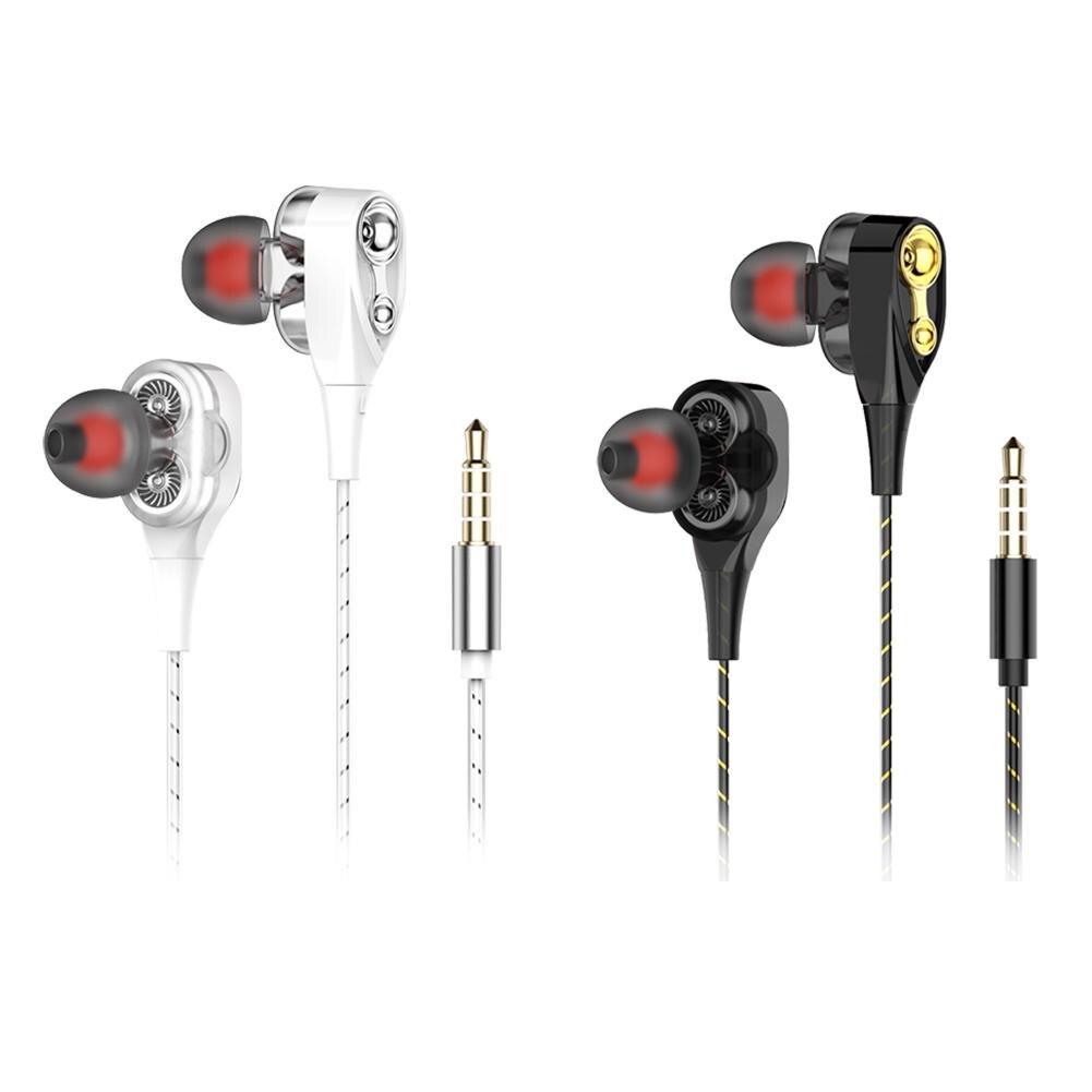 Wired Earphone Earbuds-Headset Earmuff Silica-Gel Universal And High-Bass M2
