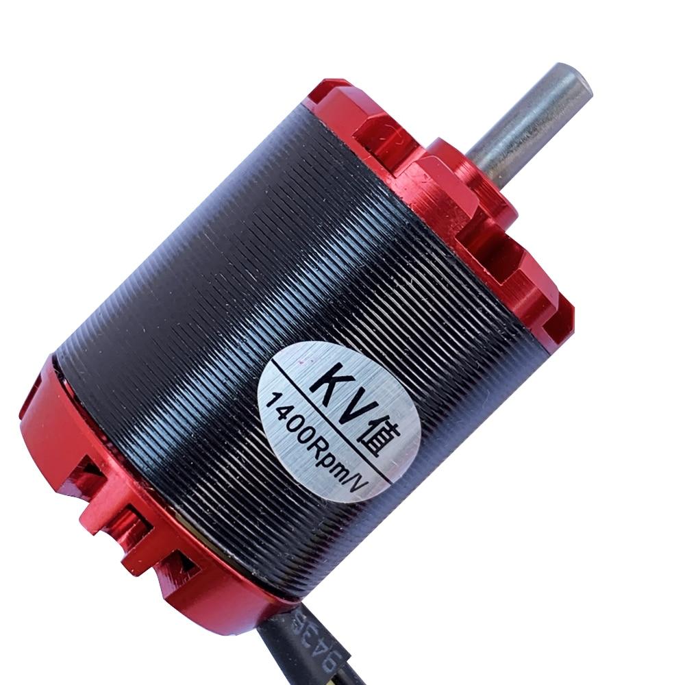 1pc N2836 Swiss Motor Brushless Outrunner Motor Strong Power Supply 1400KV High Torque High Power High Speed Brushless Motor