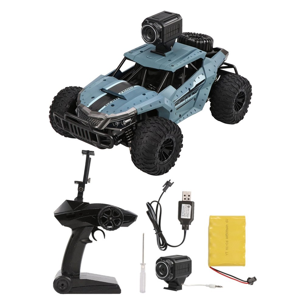 DM-1803 Electric 4 Wheel Drive Buggy Rock 1/16 Crawler RC Car Wifi FPV 2.0MP Camera Off-Road Vehicle Toys for Children