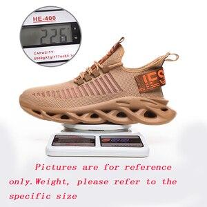 Image 3 - Atmungsaktive Laufschuhe Licht männer Neue Sport Schuhe Große Größe Bequeme Turnschuhe 45 Mode Walking Jogging Casual Schuhe 46