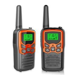 2 Stuks Walkie Talkie 462.-467 Mhz Uhf Mini Walkie Talkie Draagbare Handheld Radio Communicator Transceiver Two-Way Radio