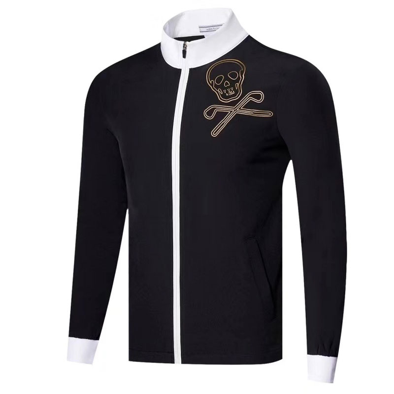 New Golf Clothes Autumn Winter Long Sleeve MARK&LONA With Velvet Warm Coat Golf Jacket Leisure Full Motion Golf Windbreaker