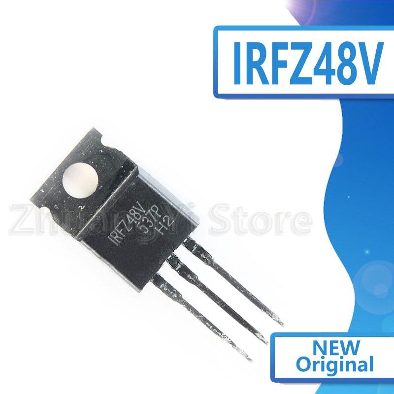 10pcs/lot IRFZ48V New Spot TO-220 60V 72A