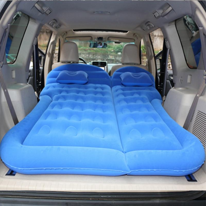 Надувной автомобильный матрас SUV надувной автомобиль многофункциональный автомобиль надувная кровать автомобильные аксессуары надувная кровать товары для путешествий|Дорожная кровать в авто|   | АлиЭкспресс