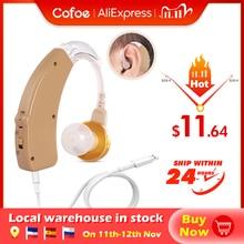 Apparecchi acustici ricaricabili Cofoe per gli anziani perdita delludito amplificatore del suono strumenti per la cura dellorecchio audifonos regolabili