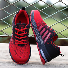 Mesh Casual Shoes Big Plus Size 46 Sneakers Breathabl Footwear Couple