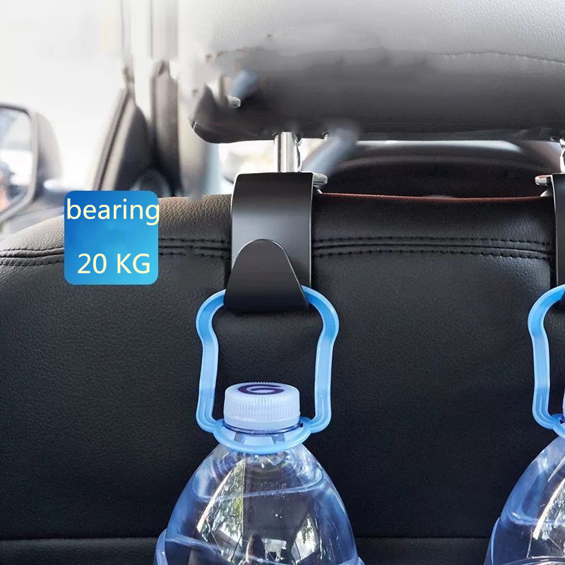 2pcs Car Seat Back Bag Hanger Hooks for 1 3 5 6 Series F30 F10 E34 E36 E38 E39 E46 E53 E60 E63 E83 E90 E91 X1 X3 X5 Accessories
