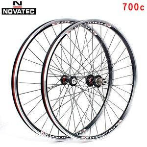 Новые Дорожные велосипеды 700c A141SB F062SB, колеса из алюминиевого сплава, V тормоз, 4 подшипника, 7-11speed, 32H велосипедные колеса