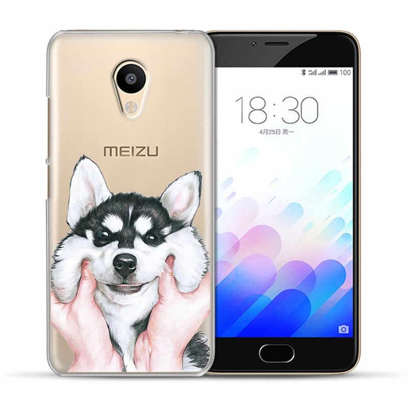 Katze hund cartoon Für Meizu M3S M5 M5S M5C M6 M3 M5 M6 Hinweis U10 U20 telefon Fall Abdeckung Coque etui capa Funda shell capinha NETTE