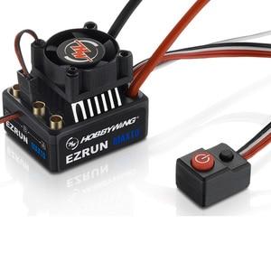Image 4 - Hobbywing EZRUN MAX10 60A กันน้ำ ESC 6V/7.4V BEC 2 3S Lipo ความเร็วคอนโทรลเลอร์ Brushless ESC สำหรับ 1/10 RC รถ