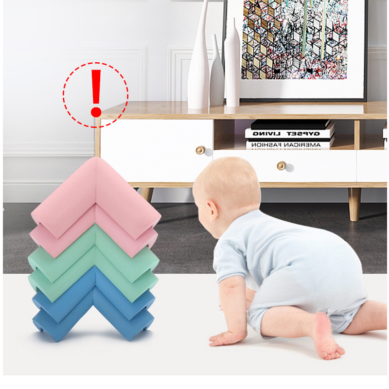 Soft Baby Safety Desk Table Edge Guard Security U-Shaped Kids Baby Corner Protection Bumper Angle Home Anti-collision Strip