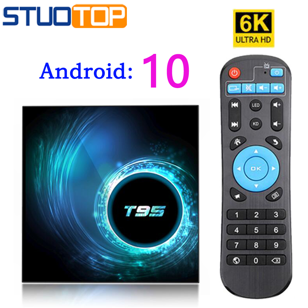2020 Latest Android 10 IPTV Smart TV Set-top Box 6K 2G 4G 32G 64G 4K Tv Box Mini Media Player