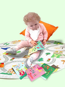 Baby Toys Rattle-Toy Crib Stroller Soft-Cloth-Books Educational Infant Newborn 0-36-Months