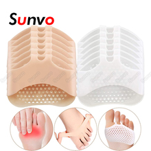 6 Pairs Silicone Forefoot Pad for Women High Heel Shoes Foot Blister Care Toes Inserts Foot Cushion Forefoot Pain Relief Gel Pad