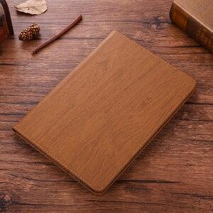 Новый чехол Coque для iPad mini 1 2 3, деревянный чехол из искусственной кожи, умный чехол для iPad mini 2 mini 3, чехол для автоматического сна A1432 A1454 7,9''