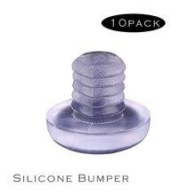 Для мебели диаметр дверного ящика 5 мм небольшие из силиконового каучука немой бампер