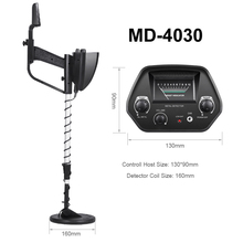 HOT SALE Underground Metal Detector MD-4030P Gold Detectors MD4030 Treasure Hunter Detector Circuit Metales underground metal detector md4030 professiona gold digger treasure hunter length adjustable circuit metales under shallow water