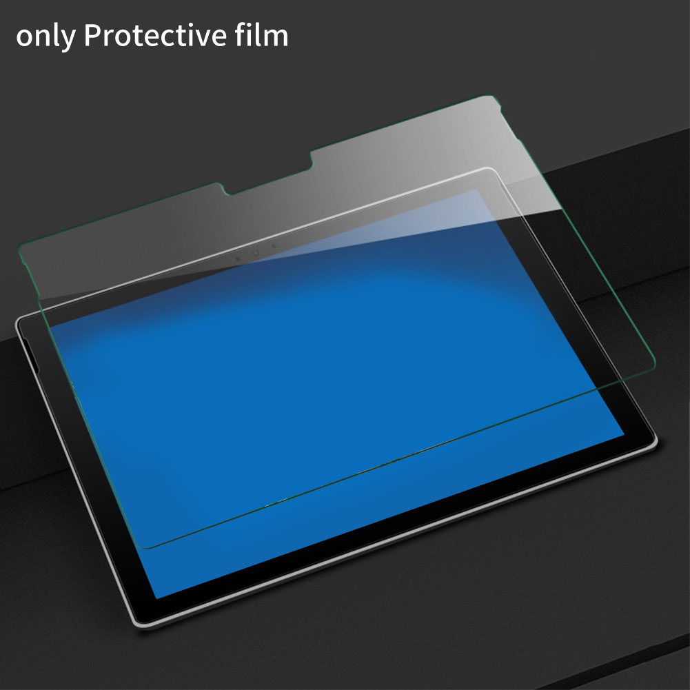 Clear Tempered Glass HD Accessories Hard Protective Film Tablet Screen Protector Arc Edge High Sensitivity For Surface Pro 456 image