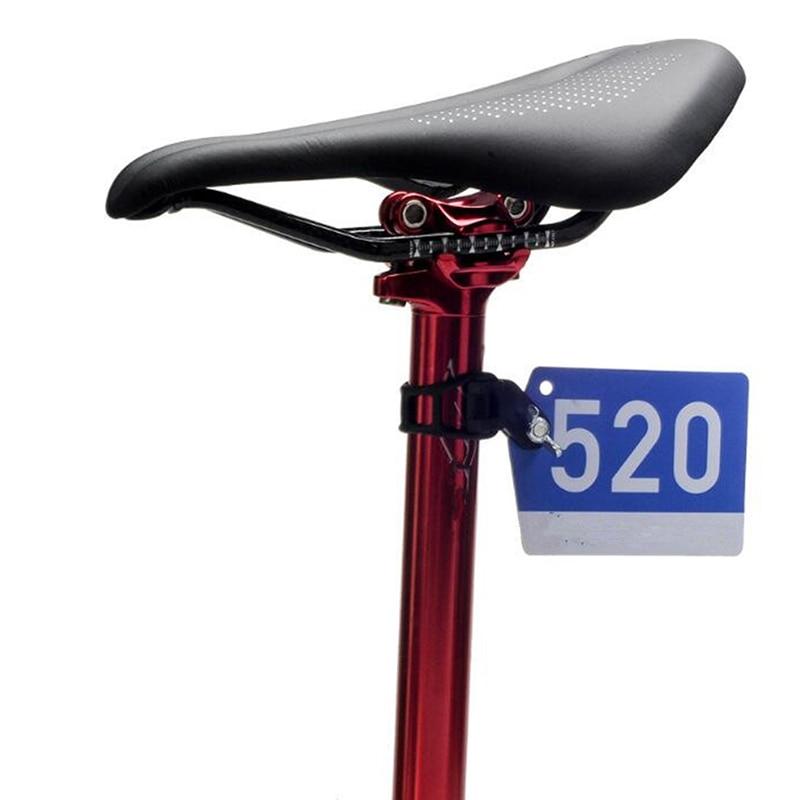 Diy Mtb Bike Triathlon Racing Number Plate Mount Holder Cycling Plate Number
