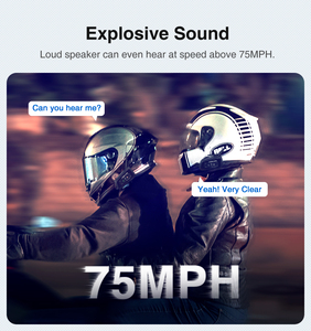 Image 5 - Lexin r6 capacete da motocicleta bluetooth fones de ouvido intercom para 2 pilotos bt sem fio 1200m intercomunicador interfone handsfree