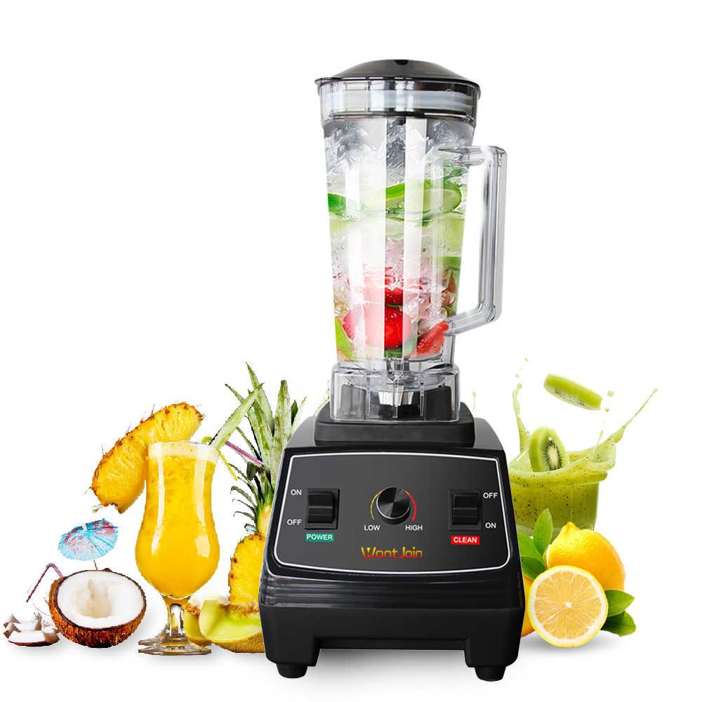 WantJoin Heavy Duty Automatische Grade Timer Mixer Mixer Obst Entsafter Maschine Milch Shake CE Küchenmaschine Eis Brecher Smoothies