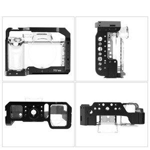 Image 2 - Selens a7iii a7r3 a7m3 jaula para Sony A7RIII /A7III/A7MIII jaula de aleación de aluminio para montar trípode Kit de extensión de liberación rápida 2087