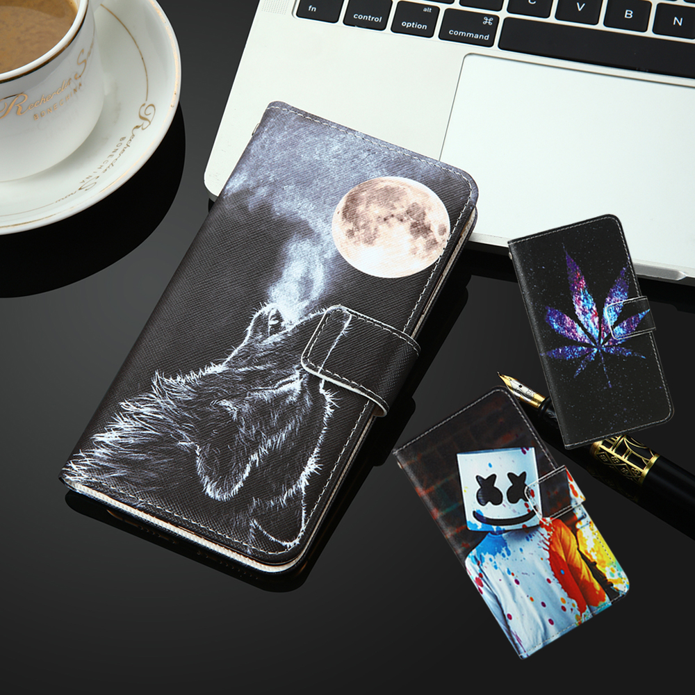 For General Mobile GM8 GM6 GM5 Plus PU Leather Retro Flip Cover Shell Magnetic Fashion Kickstand Strap Wallet Cases image