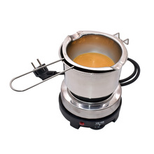 1 Set Electric Heater Beeswax Melting Stove with Pot Candle Making Beeswax Melter Beeswax Heater Wax Melting DIY Candle