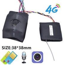 Camhi app diy 5 3g 4g módulo de câmera ip sim 5mp imx335 1920p sem fio mini 4g pino buraco covert microfone embutido micro sd slot para cartão