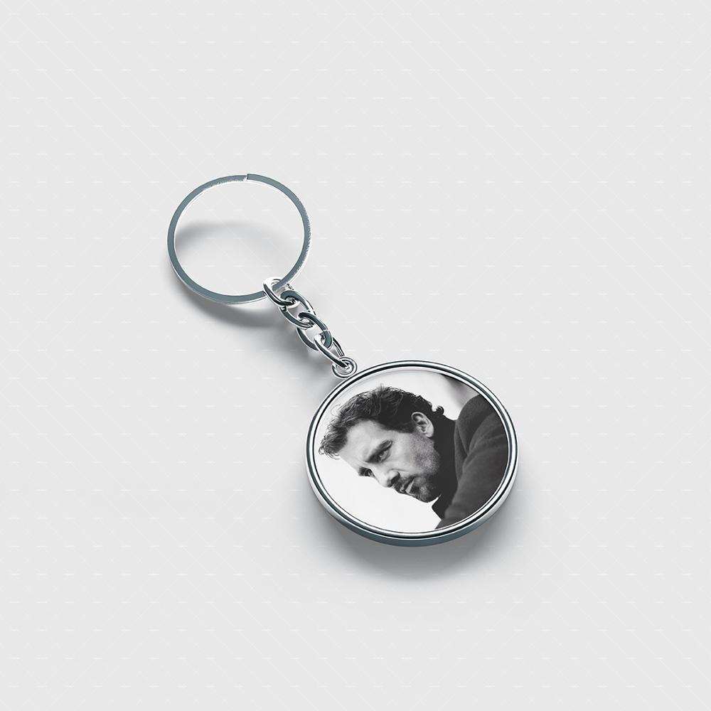 Clive Owen Best personalized keychain Cute cool accessories custom keychains for men women kids image