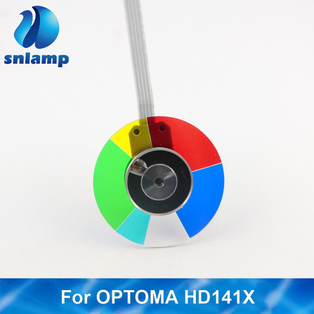 SNLAMP Brand New Projector Color Wheel For OPTOMA HD26 HD141X VDHDNL DH1008 DH1009 GT1070 GT1080 HD180 GT1080 HD230X HD26 HT1081
